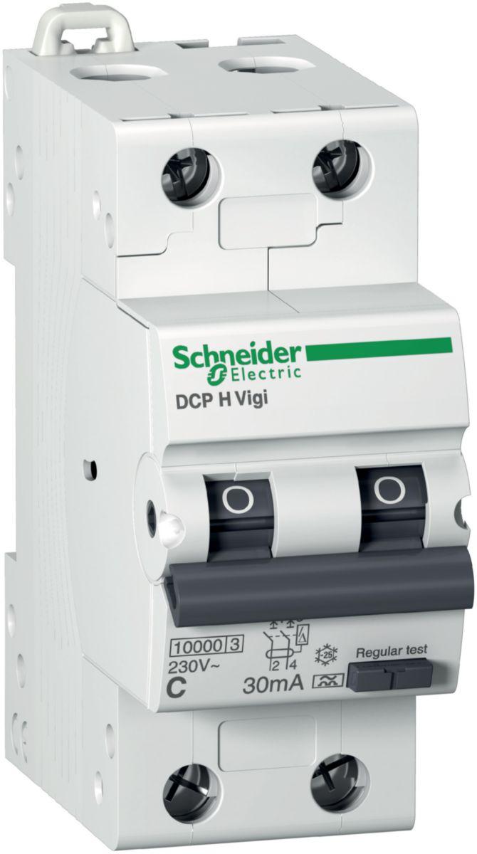SCHNEIDER Jordfeilautomat 16A/C-2P 30mA (1600158)