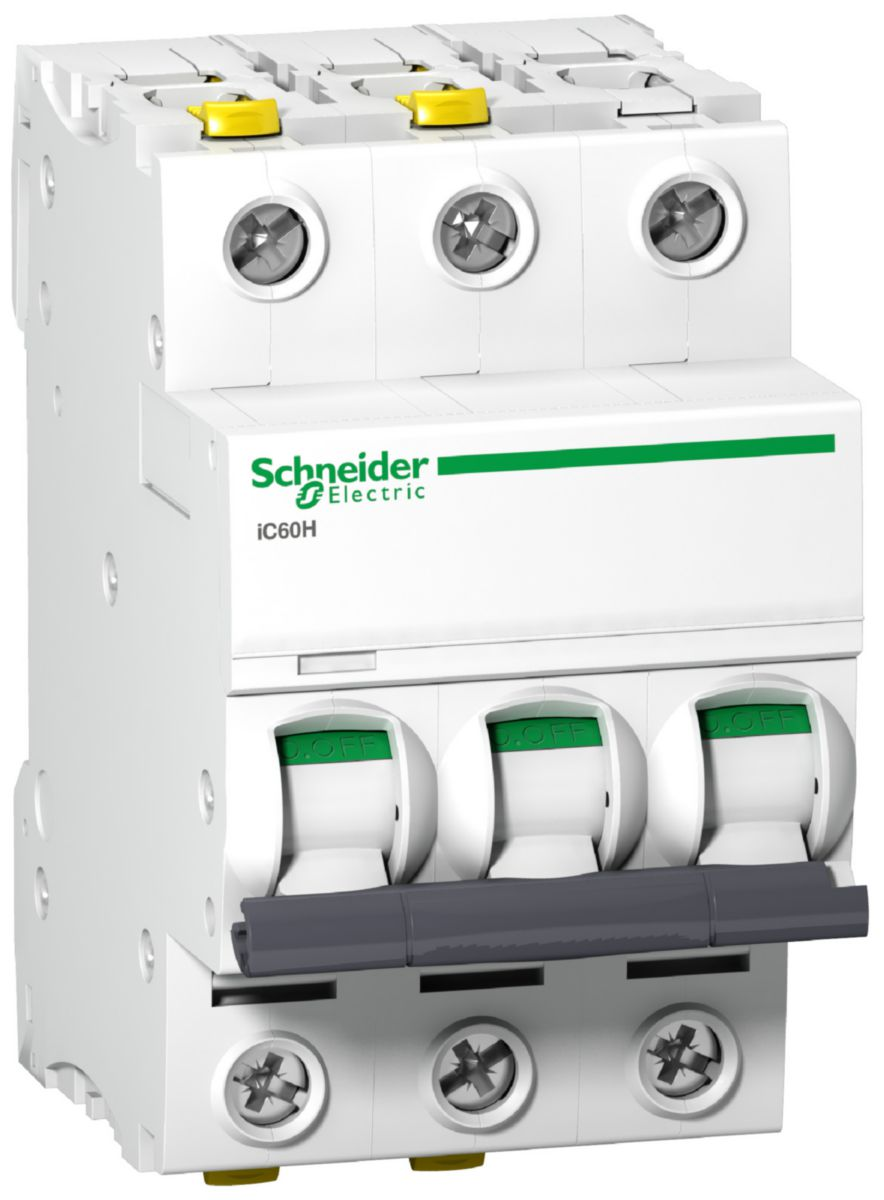 SCHNEIDER Automatsikring iC60H 3x16A/C (1676079)